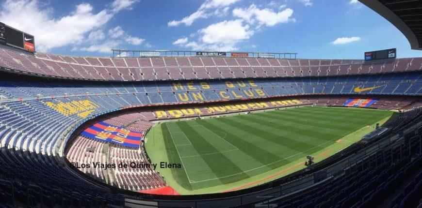 Panorámica del Camp Nou