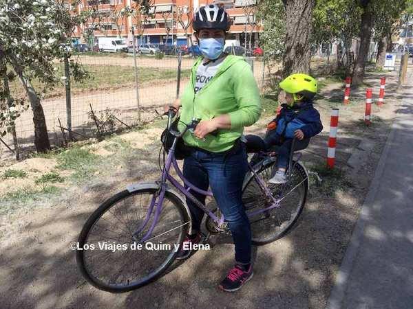 Preparados para ir al Delta del Llobregat en bicicleta
