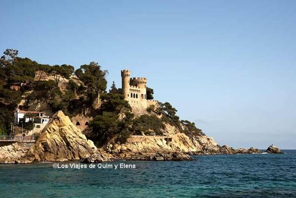 Castillo d'En Plaja, Lloret de Mar con niños