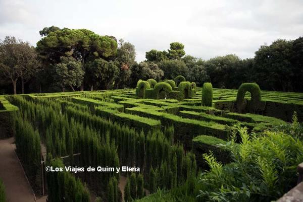 Parc del Laberint, Jardines más bonitos de Cataluña