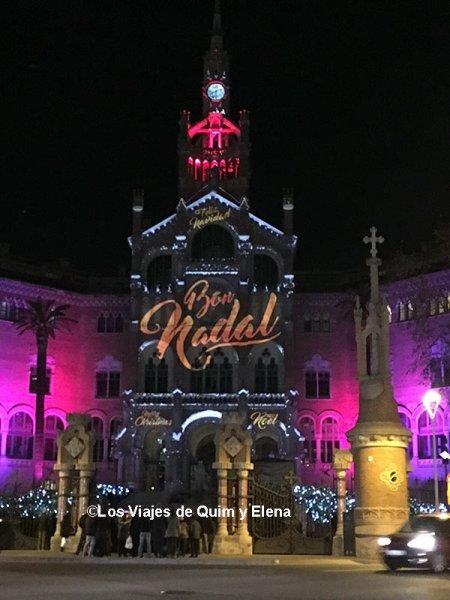 Navidad en el Hospital de Sant Pau