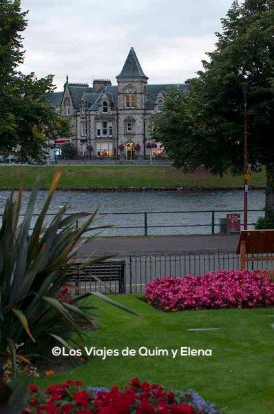 Inverness, ruta en coche por Escocia