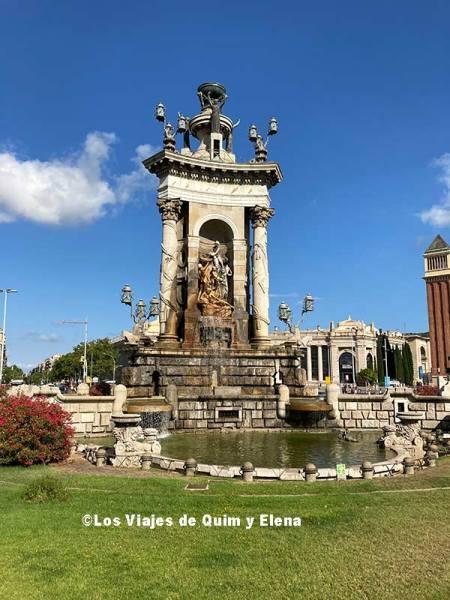 Plaza España desde el Bus Turístic