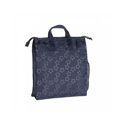 Torba do wózka Laessig Casual Label Reflective Star Navy