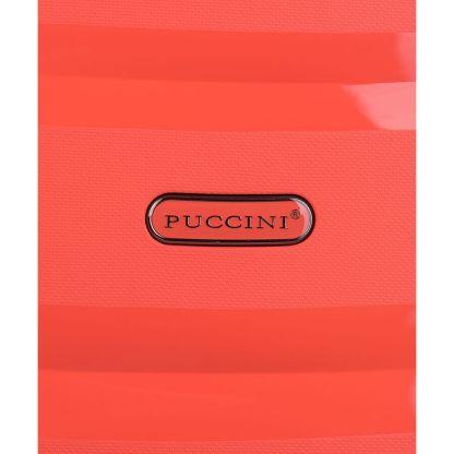 Walizka kabinowa Puccini Acapulco pomarańczowa