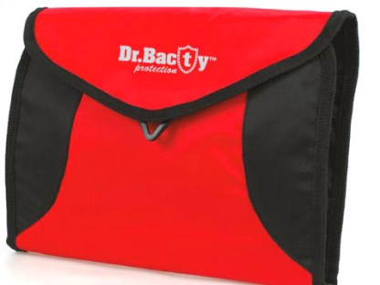 Kosmetyczka podróżna Dr. Bacty, czerwona