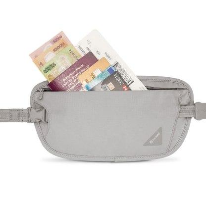Dyskretny atykradzieżowy portfel Pacsafe Coversafe X100