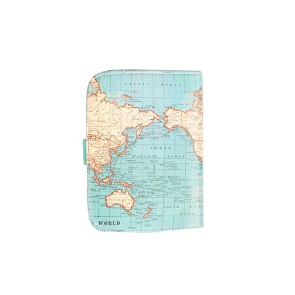 Etui na paszport Vintage Map