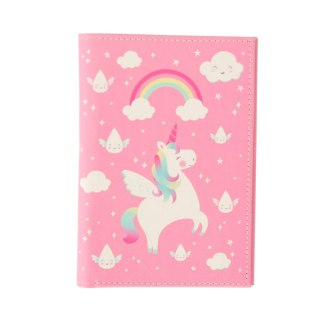 Etui na paszport Rainbow Unicorn