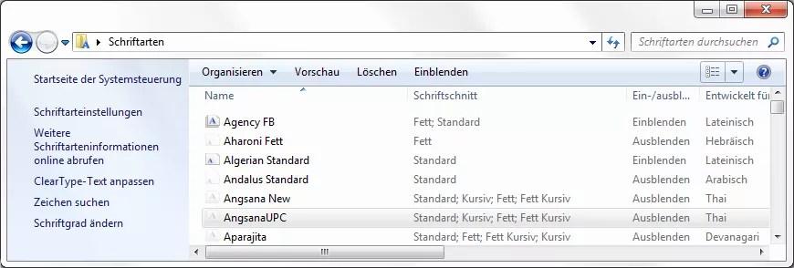 Windows Schriftart Ohne Administratorrechte Loteks