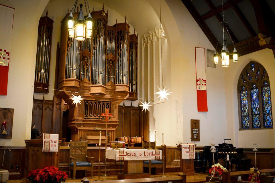 Pipe Organ at Lake of the Isles Lutheran Church in Minneapolis, MN