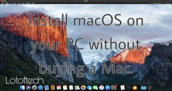 Install macOS on Linux PC in VM