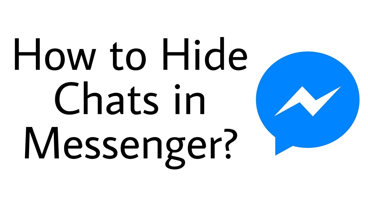 How to hide chats in messenger