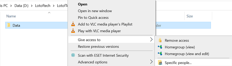 Wi-fi Files transfer from one PC to another PC