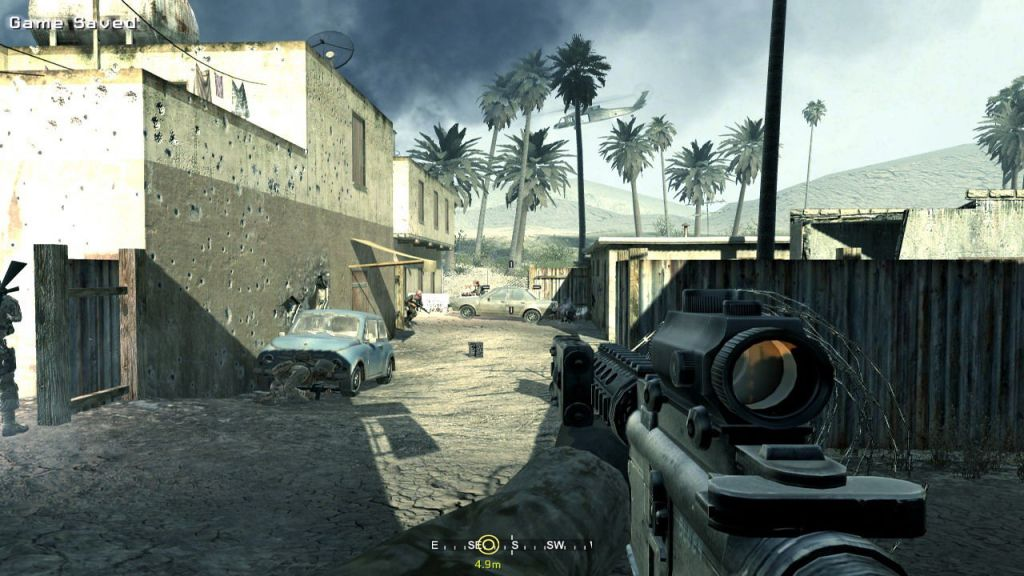 Call of duty is really a great war game and one of the best games without graphics card