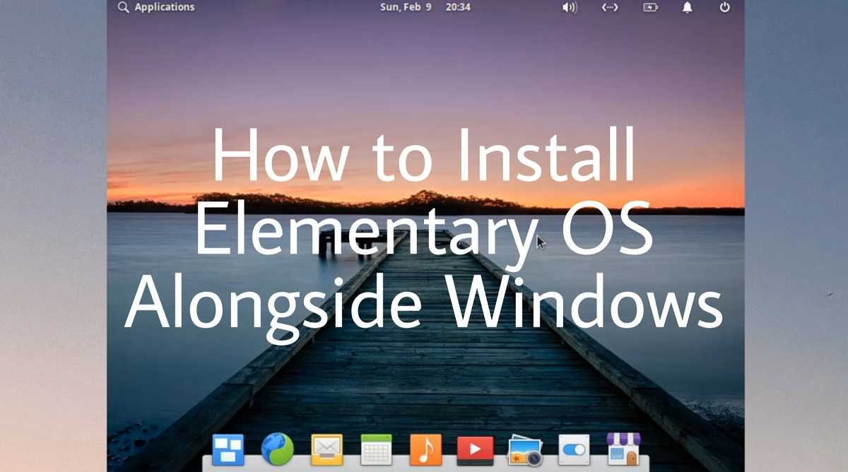 how to install elimentary OS alongside Windows