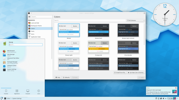 Install KDE plasma desktop environment on Zorin / Ubutnu
