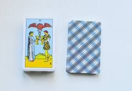 THE RIDER TAROT DECK /желтые /мини/