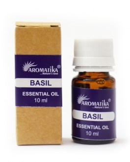 Базилик эфирное масло 10мл. Aromatika