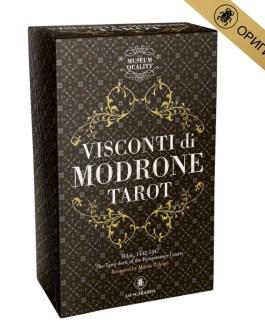 Vusconti di Modrone Tarot (Висконти) /Lo Scarabeo/ коробка/