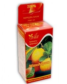 Мандарин 5 мл эфирное масло Ароматы здоровья