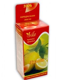 Лимон 5 мл эфирное масло Ароматы здоровья
