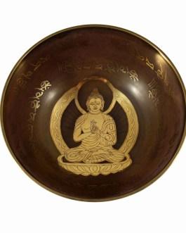 Поющая чаша Будда 8см.06300