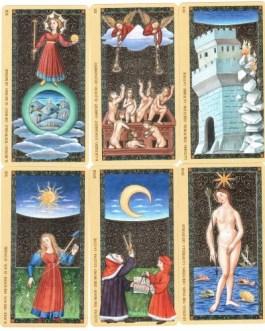 Golden Tarot of Renaissance – Estensi (gold foil) /Lo Scarabeo/