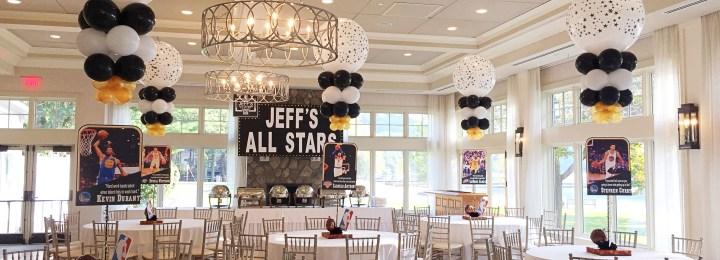 Planning An All Stars Basketball Bar Mitzvah