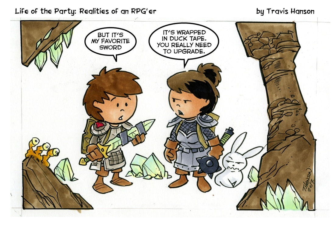 Life of the Party #104 by Travis Hanson