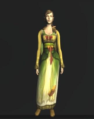 Long-sleeved Dress of the Moth