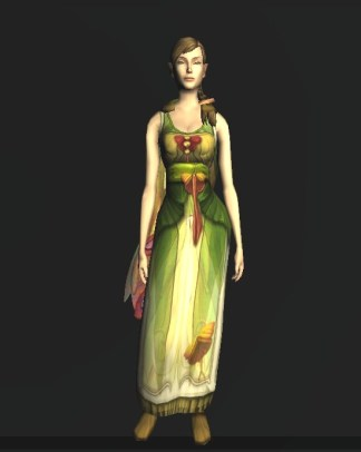 Sleeveless Dress of the Moth