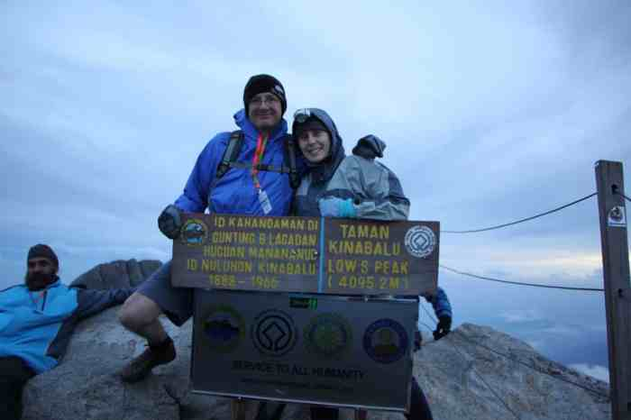 Mount Kinabalu Summit