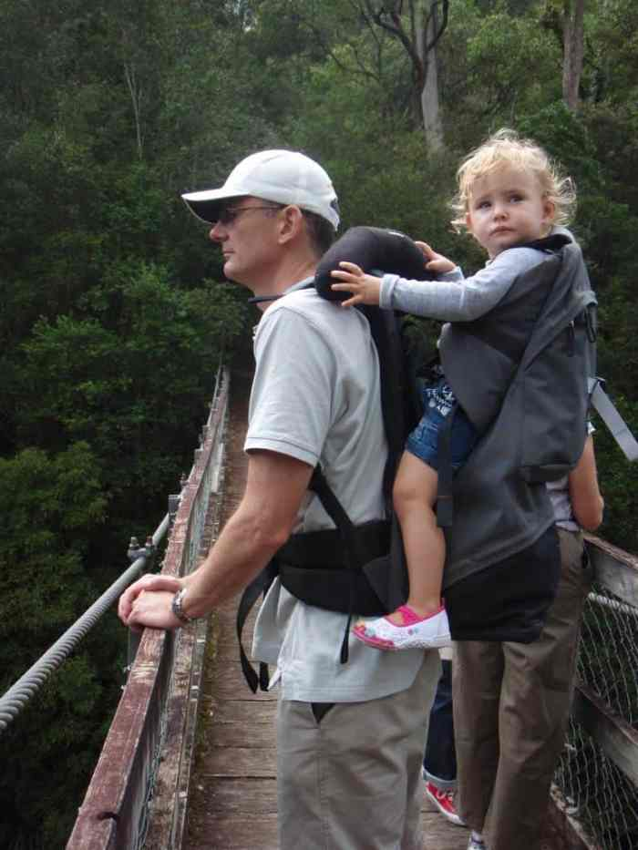 Hiking with Kids in Macpac Possum Carrier