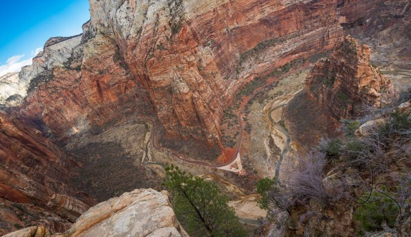 The Zion valley viewed from above at Scout Lookout | LotsaSmiles Photography