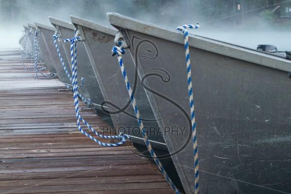 Misty Boats - LotsaSmiles Photography