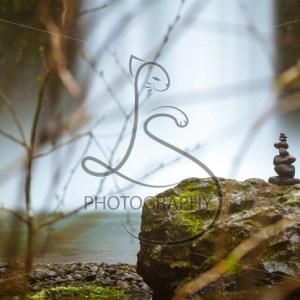 Waterfall Cairn - LotsaSmiles Photography