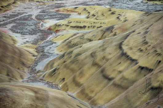 Waves in the soil at Oregon's Painted Hills | LotsaSmiles Photography