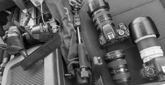 Assortment of gear left on a car seat | LotsaSmiles Photography