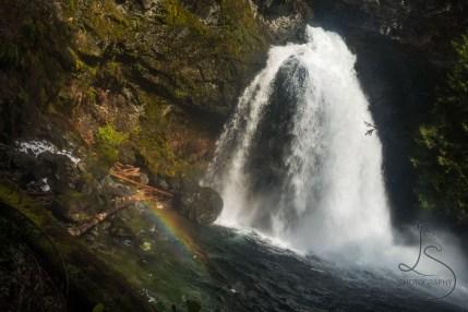 Black Hole Falls in Washington | LotsaSmiles Photography