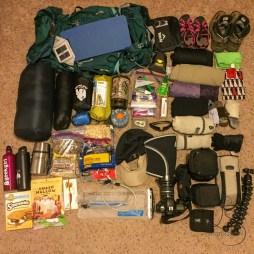 Backpacking prep