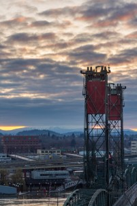 Sunrise shoot of the Hawthorne