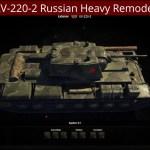 KV-220-2 Russian Heavy Remodel
