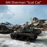 "M4 Sherman ""Scat Cat"" In Action"