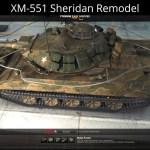 XM-551 Sheridan Remodel