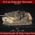 IS-6 as Defender Remodel