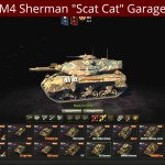 "M4 Sherman ""Scat Cat"" Garage View"