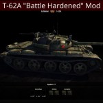 "T-62A Russian Medium ""Battle Hardened"" Mod"