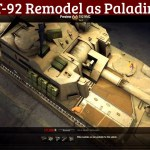 T-92 Remodel as Paladin