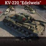 """KV-220 """"Edelweiss"""""""